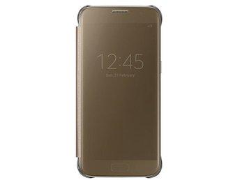 Samsung Flip-Case Clear View EF-ZG930CF Galaxy S7 Gold - Kalmar - Samsung Flip-Case Clear View EF-ZG930CF Galaxy S7 Gold - Kalmar