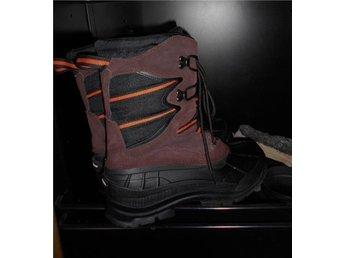 Vinterkängor Stövlar Bluwear Skinn/textil/Thinsulate - Västerhaninge - Vinterkängor Stövlar Bluwear Skinn/textil/Thinsulate - Västerhaninge