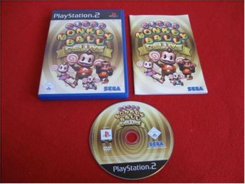 SUPER MONKEY BALL DELUXE till Playstation 2 PS2