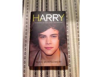 One Direction Harry Styles bok inbunden, Alice Montgomery