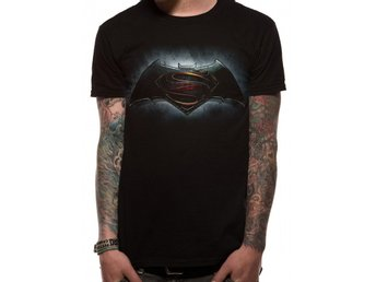 BATMAN VS SUPERMAN - LOGO T-Shirt (UNISEX) - L