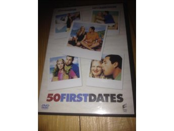 DVD 50 first dates  Adam Sandler  Drew Barrymore