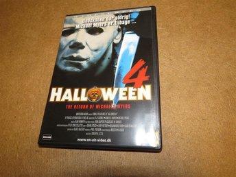 Halloween 4, DVD , Utgått Passa på - Finspång - Halloween 4, DVD , Utgått Passa på - Finspång