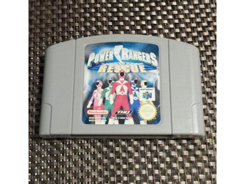 Power Rangers - Lightspeed Rescue - Nintendo 64, N64