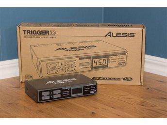 Alesis Trigger iO Trigger-till-MIDI/USB-Interface - Strängnäs - Alesis Trigger iO Trigger-till-MIDI/USB-Interface - Strängnäs