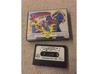 SUPERMAN THE GAME Commodore 64 First star software 80-tal