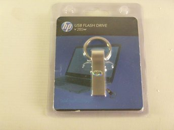 HP Stainless Steel Metal Usb Flash Drive