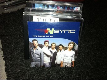 *NSYNC - It's Gonna Be Me (cd singel papperask)