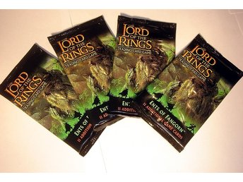 PAKET 4 st LORD OF THE RINGS  TRADING CARD    NYA OÖPPN  !!