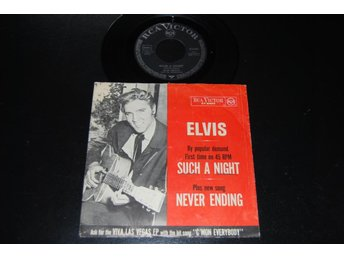 "ELVIS PRESLEY ""SUCH A NIGHT"" 47-8400"