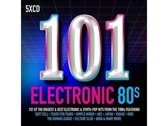 101 Electronic 80s (5 CD)