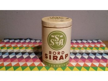 Bord Sirap Sockerbolaget SSA 1Kg Pappers Burk