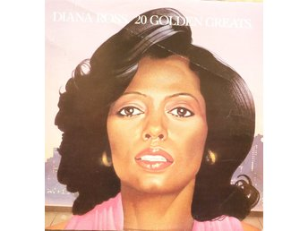 LP - Vinyl - Diana Ross - 20 Golden Greats  - 1979