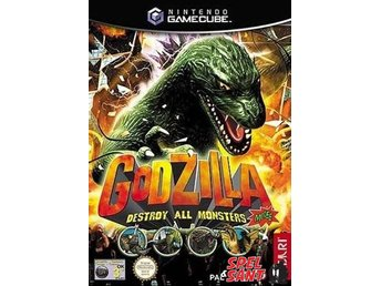 Godzilla Destroy All Monsters Melee