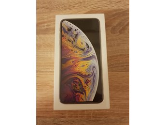 IPHONE XS MAX 256GB SILVER OLÅST