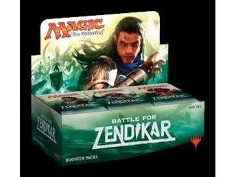MTG battle for zendikar  booster display, oöppnad