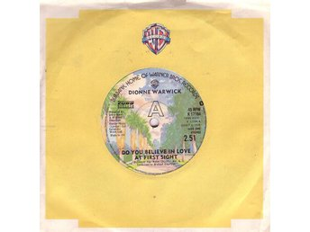 Dionne Warwick-Do you believe in love at first sight +1 / 7""