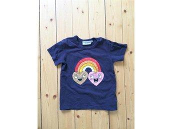 Mini Rodini Rainbow T-shirt 92/98 - Karlsborg - Mini Rodini Rainbow T-shirt 92/98 - Karlsborg