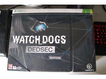 Watch Dogs - Dedsec Edition - Nytt Inplastat! Xbox 360 - Laholm - Watch Dogs - Dedsec Edition - Nytt Inplastat! Xbox 360 - Laholm
