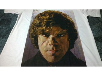 "T-Shirt. Vit. Game of Thrones. Tyrion ""The Imp"". Lannister. Medium"