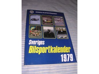 Sveriges Bilsportkalender 1979 (hft) Rally racing mm