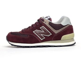 New Balance 574 strl 43 - Wine Red nya