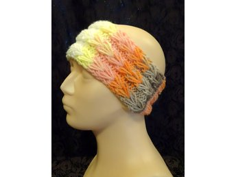 New Handstickad Huvudband /Made By Hanna/ akryl headband