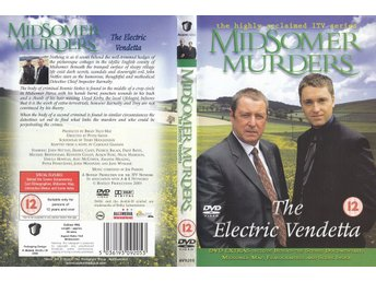 Midsomer Murders The Electric Vendetta 2001 DVD