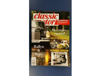 Classic Motor nr 1 1993: Morris Minor, Mercedes, Scania L63 1953, HD 1946