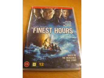 THE FINEST HOURS - BASERAD PÅ EN SANN HISTORIA - DISNEY - DVD 2016