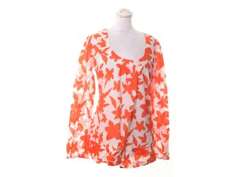 Pepe Jeans, Blus, Strl: L, Orange/Vit
