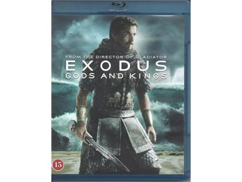 Exodus. Gods and Kings.  Blue-Ray DVD