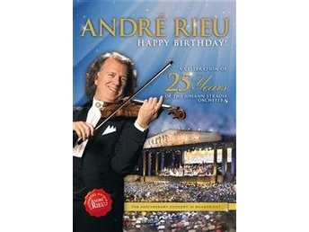 Rieu André: Happy birthday! (DVD)