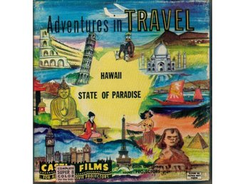 Super 8 - Hawaii State Of Paradise - Castle Films (stumfilm) - Färg - 60 meter