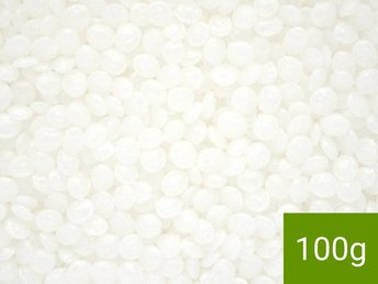 100g POLYMORPH plast - formbar termoplast - polycaprolactone (PCL) Julpynt-tips!