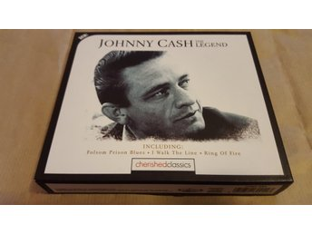 Johnny Cash - The Legend (3-CD BOX)