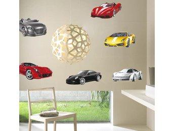 Väggdekor Grå : Super hÄftig bilar vÄggdekor d ny fraktfritt på tradera