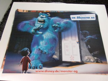 MONSTERS INC Disney Pixar ÅR 2002 FOTO 2