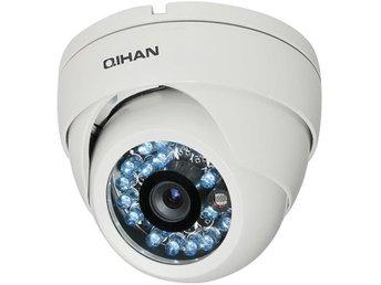 "Qihan DOME Sony 1/3"" Exmor CMOS, 3,6mm , BNC, IR, vandalskydd, vit - Höganäs - Qihan DOME Sony 1/3"" Exmor CMOS, 3,6mm , BNC, IR, vandalskydd, vit - Höganäs"