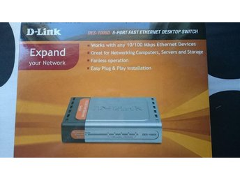 D-Link DES-1005D Ethernet switch