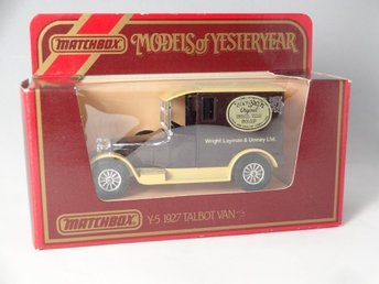 1927 Talbot Van / Wrights Soap / Matchbox Lesney / 1:47 - Skanör - 1927 Talbot Van / Wrights Soap / Matchbox Lesney / 1:47 - Skanör