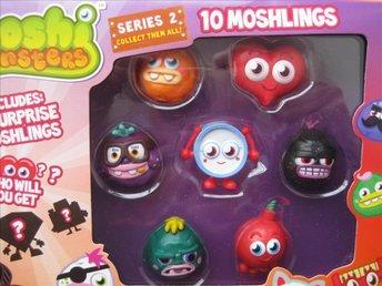 Leksaker - Moshi Monsters - Figurer 10st Moshlingsfigurer Heart serie 2 NYTT REA - Uddevalla - Leksaker - Moshi Monsters - Figurer 10st Moshlingsfigurer Heart serie 2 NYTT REA - Uddevalla