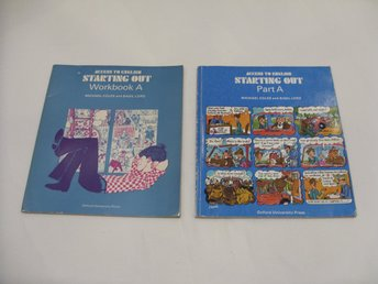 Access to English Starting Out Part A and Workbook A Vintage Retro 1974/1978
