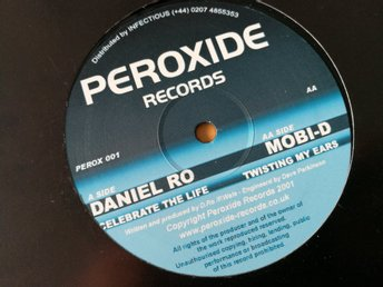 Daniel ro / Mobi d - Celebrate the life / Twisting my ears