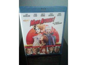 MARS ATTACKS! (Tim Burton) 1996 Blu-ray Svensk text! *Ny & Inplastad* - Tumba - MARS ATTACKS! (Tim Burton) 1996 Blu-ray Svensk text! *Ny & Inplastad* - Tumba