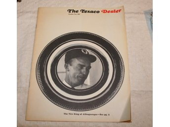 THE TEXACO DEALER 1967. BRANCHTIDNING.