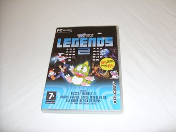 Taito Legends 2 PC CD ROM samling av retro spel Engelsk utgåva 2006