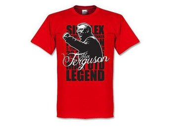 Manchester United T-shirt Ferguson Legend M