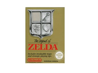 The Legend of Zelda - NES - Kassett