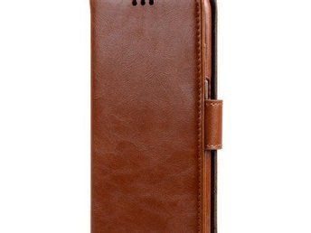 MELKCO WALLETCASE SAMSUNG GALAXY S8 BROWN
